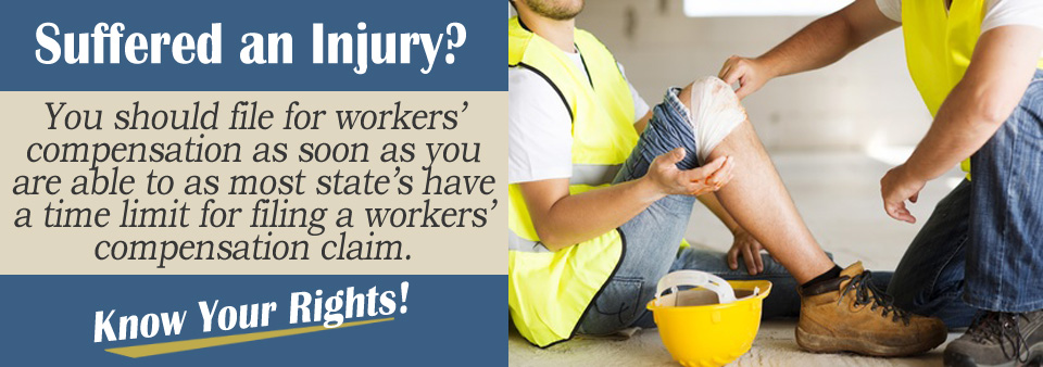 How Long Do I Have to File a Claim After I'm Injured at Work?