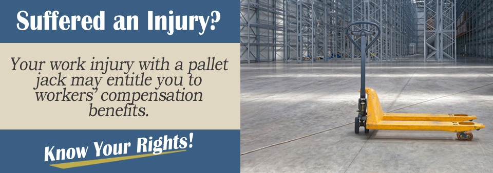 Worker's Compensation for Being Injured by a Pallet Jack