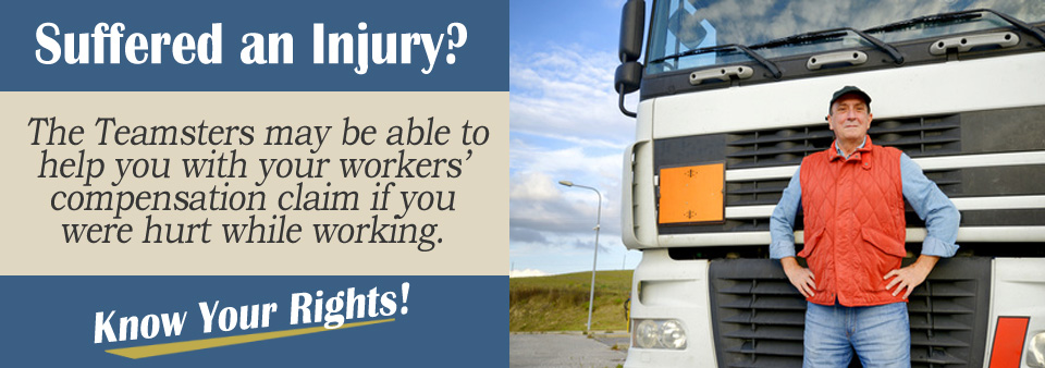 Applying for Workers' Comp as a Member of the Teamsters?