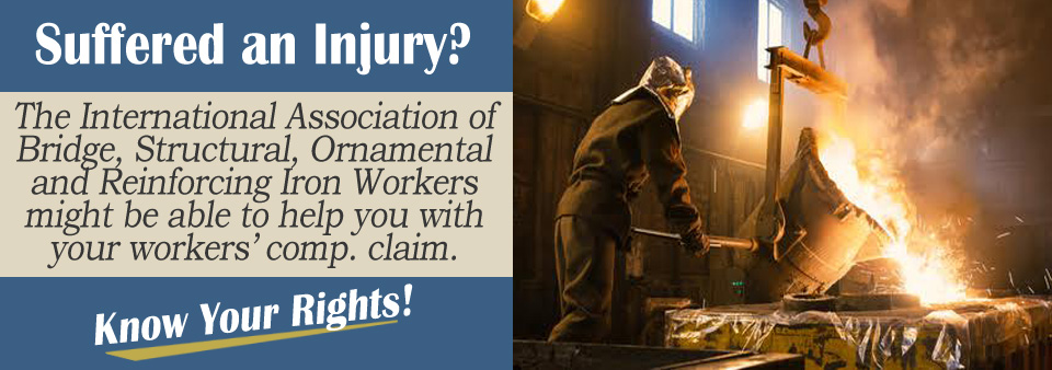 Applying for Workers' Comp as a Member of the Ironworkers